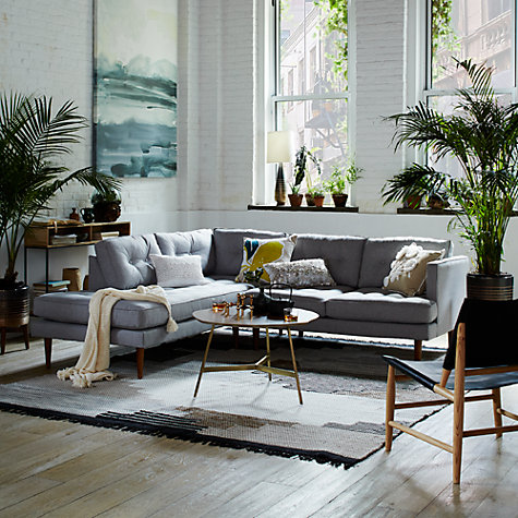 Buy west elm peggy mid century terminal chaise sectional for West elm peggy sectional sofa