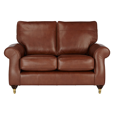 Buy John Lewis Hannah Small 2 Seater Leather Sofa Castor
