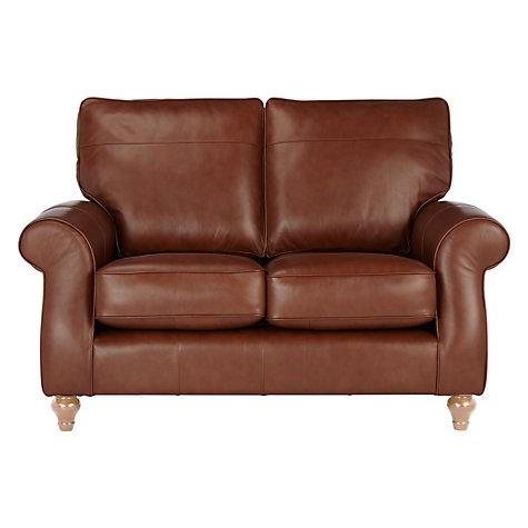 Buy John Lewis Hannah Small 2 Seater Leather Sofa Light