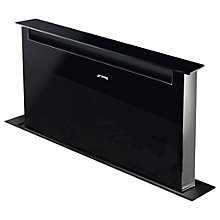Buy Smeg KSDD90VN Dolce Stil Novo Integrated Cooker Hood, Stainless Steel Online at johnlewis.com