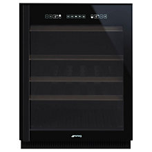 Buy Smeg CVI638N Dolce Stil Novo Wine Cooler with Righthand Hinge, Black Online at johnlewis.com