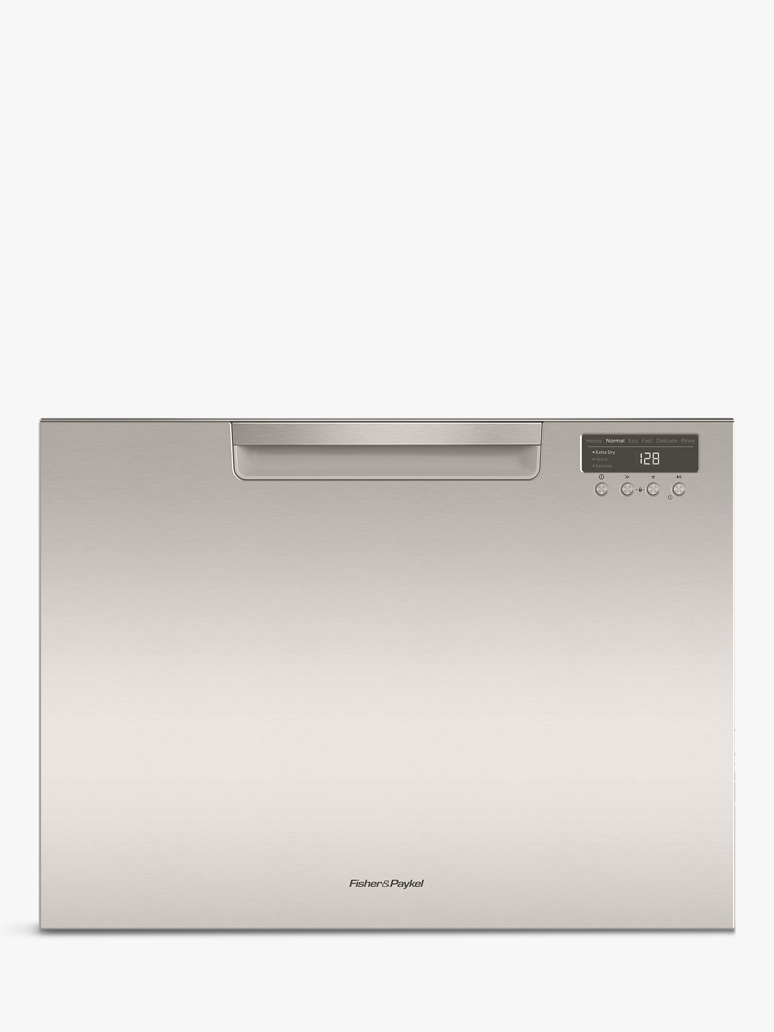 Fisher & Paykel Fisher & Paykel DD60SCTHX9 Single DishDrawer Integrated Dishwasher, Stainless Steel
