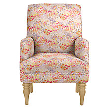 Buy John Lewis Sterling Liberty Armchair, Light Leg Online at johnlewis.com