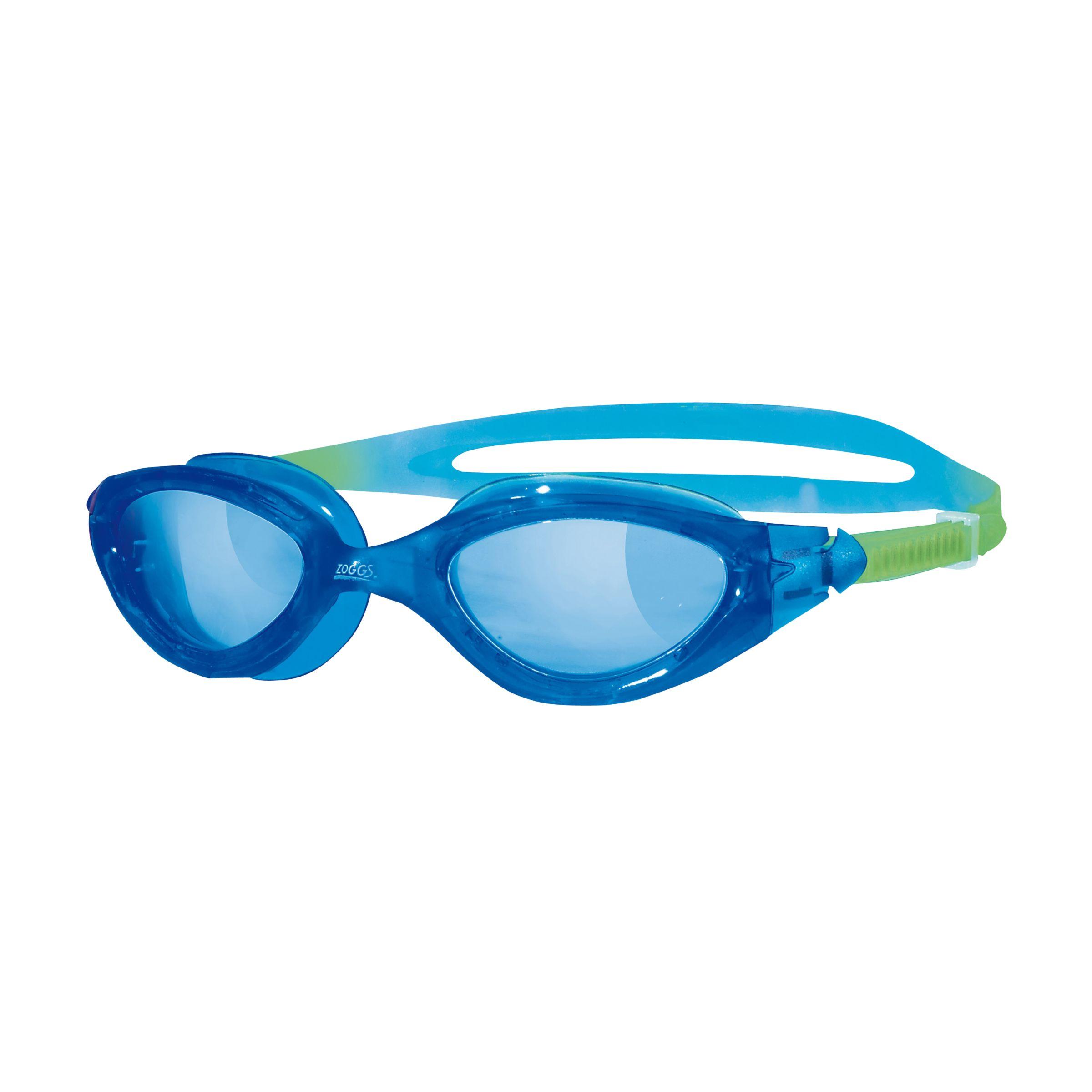 Zoggs Zoggs Panorama Junior Swimming Goggles, Blue/Pink