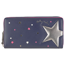 Buy Radley Night Shift Leather Large Zip Around Purse Online at johnlewis.com