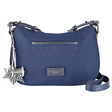 Buy Radley Deans Court Small Across Body Bag, Navy Online at johnlewis.com