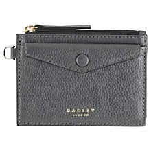Buy Radley Star Gazer Leather Coin Purse, Silver Online at johnlewis.com