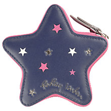Buy Radley Night Shift Leather Small Zip Around Coin Purse, Navy Online at johnlewis.com
