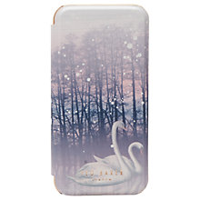 Buy Ted Baker Sparkling Swan iPhone 6/6s/7 Case, Straw Online at johnlewis.com