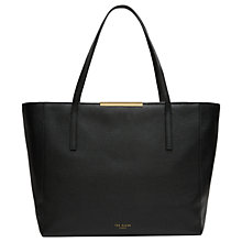 Buy Ted Baker Rhondaa Leather Large Shopper Bag Online at johnlewis.com