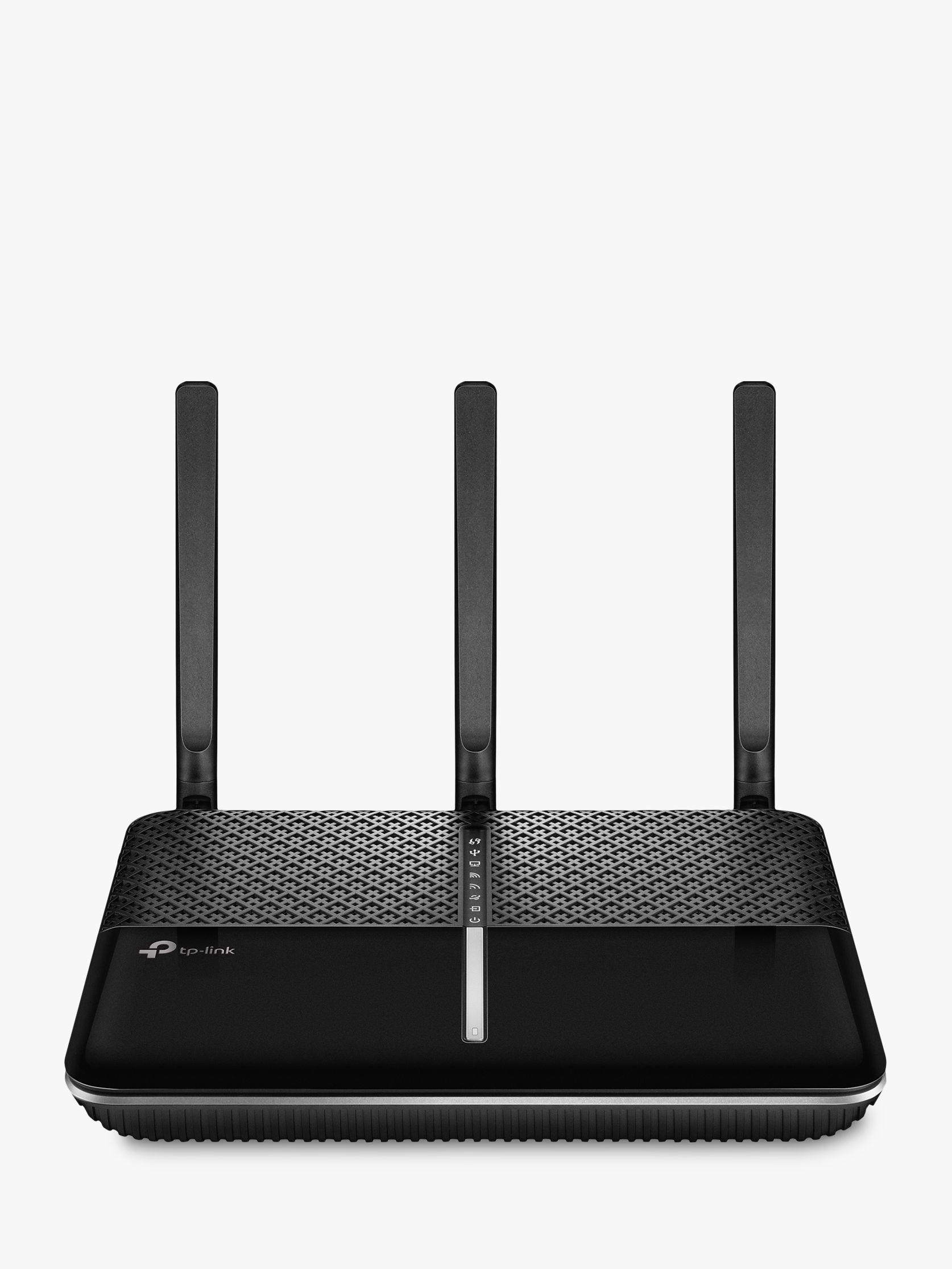 TP-Link TP-LINK AC1600 Wireless Gigabit VDSL/ADSL Modem Router, Archer VR600