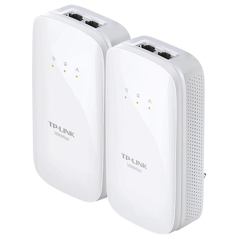TP-Link TP-LINK AV1000 Gigabit Powerline Starter Kit, TL-PA7020 KIT