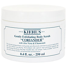 Buy Kiehl's Coriander Gently Exfoliating Body Scrub, 250ml Online at johnlewis.com