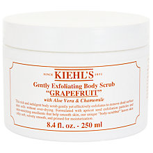 Buy Kiehl's Grapefruit Gently Exfoliating Body Scrub, 250ml Online at johnlewis.com