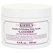 Buy Kiehl's Lavender Gently Exfoliating Body Scrub, 250ml Online at johnlewis.com