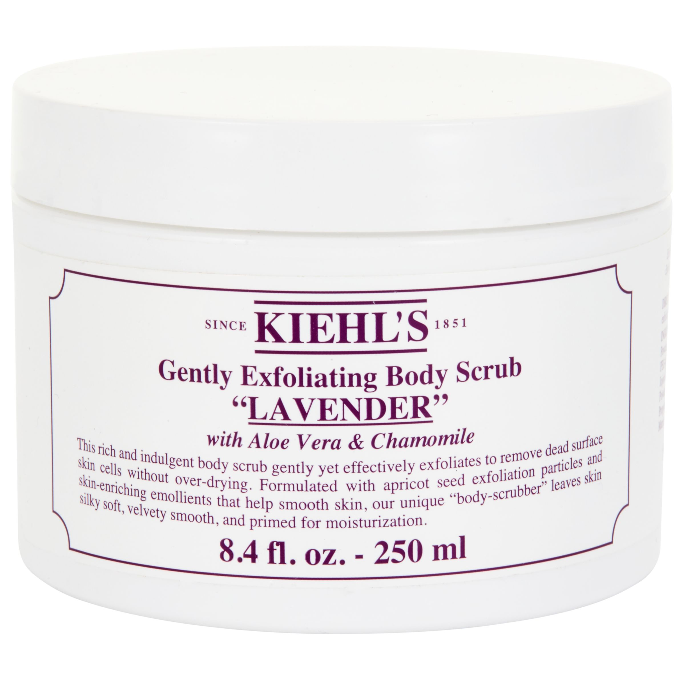 Kiehls Kiehl's Lavender Gently Exfoliating Body Scrub, 250ml