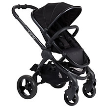 Buy iCandy Peach Pushchair with Black Chassis & Jet 2 Hood Online at johnlewis.com
