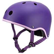 Buy Micro Scooter Safety Helmet, Purple, Small Online at johnlewis.com