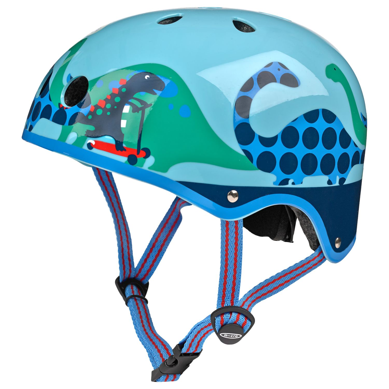 Micro Micro Scooter Scootersaurus Safety Helmet, Medium