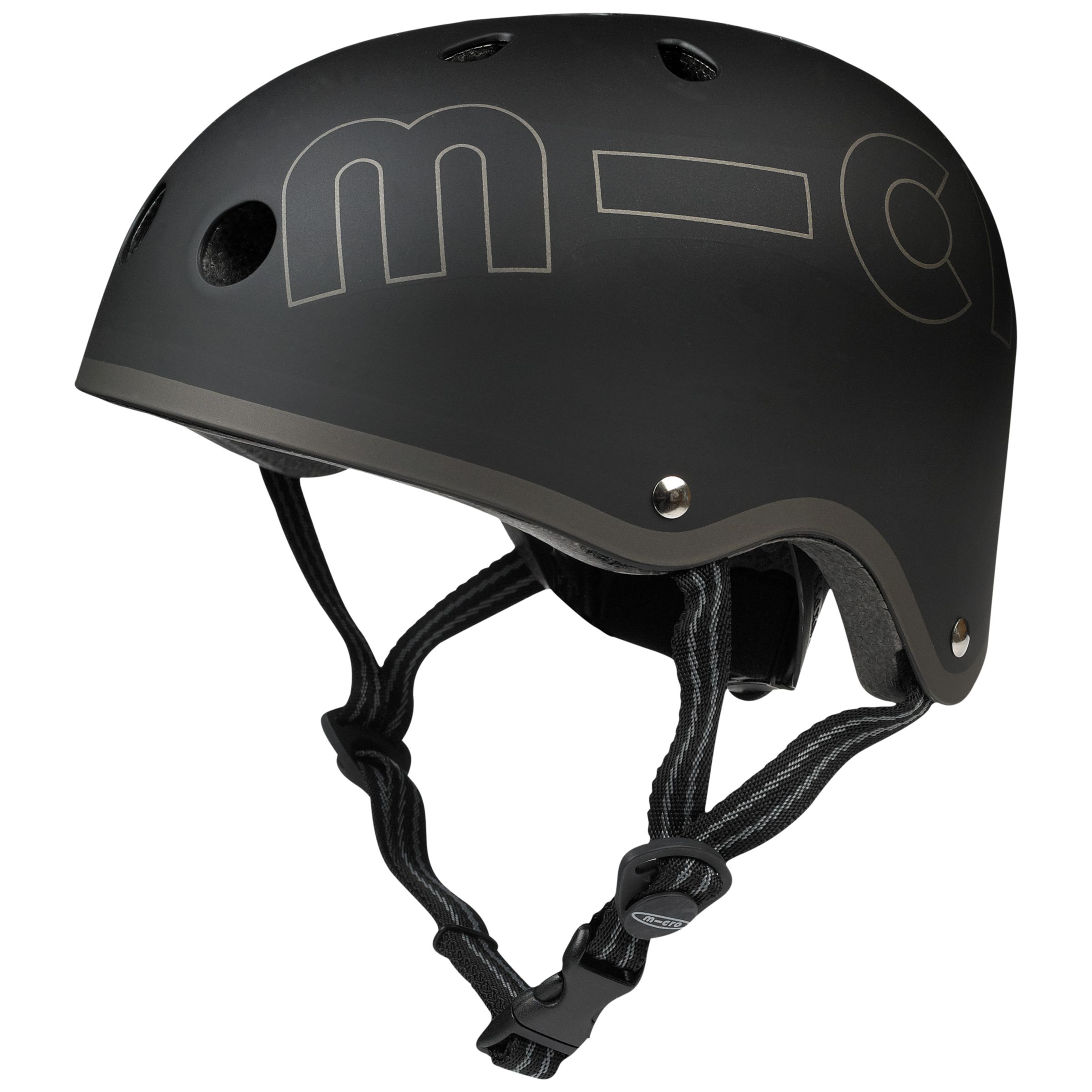 Micro Micro Scooter Safety Helmet, Black, Small