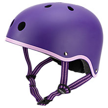 Buy Micro Scooter Safety Helmet, Purple, Medium Online at johnlewis.com