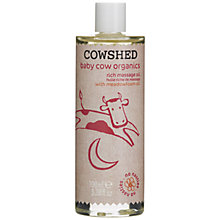Buy Cowshed Baby Cow Organics Rich Massage Oil, 100ml Online at johnlewis.com