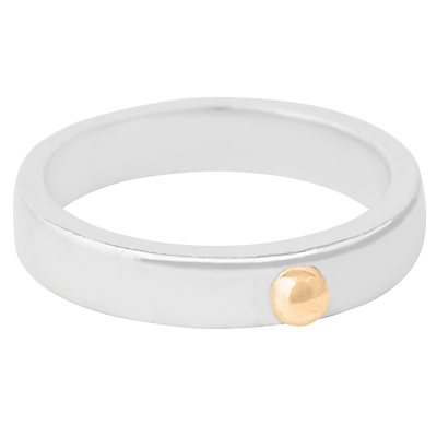 Susan Caplan Athena Bead Stacking Ring, Silver/Gold