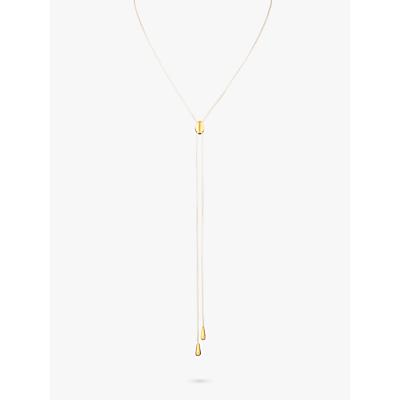 Susan Caplan Linea Lariat Necklace