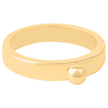 Buy Susan Caplan Medium Bead Athena Ring, Gold Online at johnlewis.com