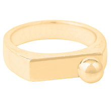 Buy Susan Caplan Large Bead Caj Stacking Ring Online at johnlewis.com
