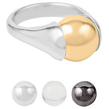 Buy Susan Caplan Gila Ring, Silver Online at johnlewis.com