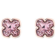 Buy Karen Millen Art Swarovski Crystal Flower Stud Earrings Online at johnlewis.com