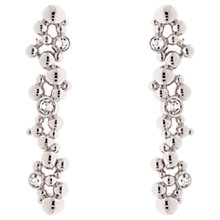 Buy Karen Millen Evolution Swarovski Crystal Drop Earrings Online at johnlewis.com