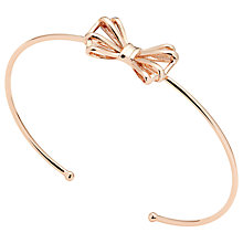 Buy Ted Baker Sennya Bow Detail Cuff Online at johnlewis.com