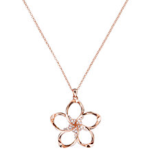 Buy Ted Baker Bedelie Swarovski Crystal Large Blossom Pendant Necklace Online at johnlewis.com