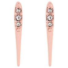 Buy Karen Millen Chasing Swarovski Crystal Drop Earrings Online at johnlewis.com