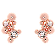 Buy Karen Millen Evolution Swarovski Crystal Stud Earrings Online at johnlewis.com