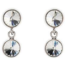 Buy Karen Millen Quantum Swarovski Crystal Drop Earrings Online at johnlewis.com