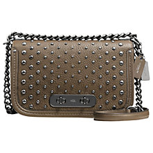 Buy Coach Swagger Leather Shoulder Bag Online at johnlewis.com