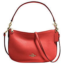 Buy Coach Chelsea Pebble Leather Across Body Bag Online at johnlewis.com