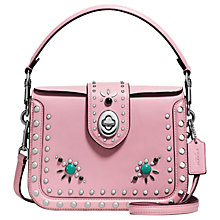 Buy Coach Page Western Rivets Leather Across Body Bag Online at johnlewis.com