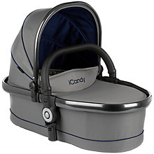 Buy iCandy Peach Twin Carrycot Moonlight Online at johnlewis.com
