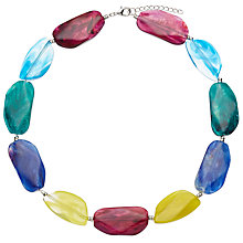 Buy John Lewis Large Beaded Statement Necklace, Multi Online at johnlewis.com