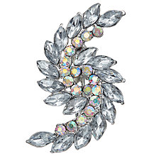 Buy John Lewis Leaf Hair Slide, Silver Online at johnlewis.com