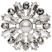 Buy John Lewis Glass Crystal Flower Brooch Online at johnlewis.com