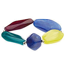 Buy John Lewis Beaded Stretch Bracelet, Multi Online at johnlewis.com