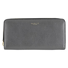 Buy Radley Star Gazer Large Leather Purse, Silver Online at johnlewis.com