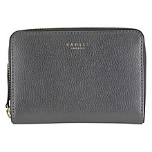 Buy Radley Star Gazer Leather Medium Purse, Silver Online at johnlewis.com
