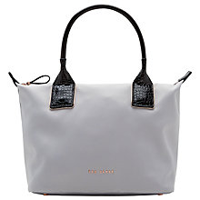 Buy Ted Baker Aviaa Leather Trim Small Tote Bag Online at johnlewis.com