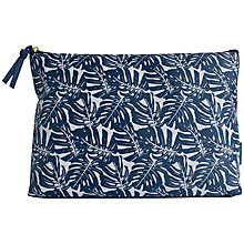 Buy John Lewis Monstera Holdall Cosmetic Bag Online at johnlewis.com